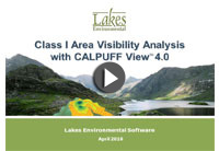 Class I Area Analysis - View Video