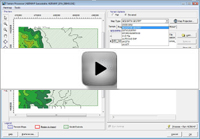 Automatic Terrain Download - View Video