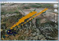 CALPUFF Puff Tracking